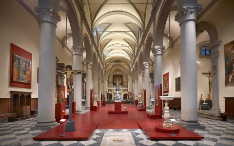 Diocesan Museum, Church of Sant'Agostino